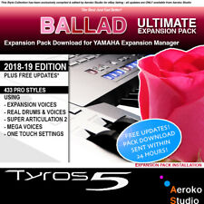 THE BEST PRO Ballad Styles for PSR S970 Download