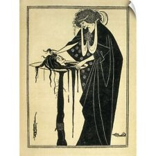 "Wall Decal ""Illustrated edition from Oscar Wilde's play Salome"""