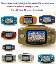 GBA Game Boy Advance Game Console with iPS Backlight Backlit LCD MOD Console
