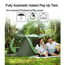 Fully Automatic Instant Opening Tent Waterproof UV Outdoor Camping 3-4/5-8Person