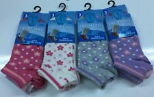 3 & 6 Pairs Girls Cotton Rich School Socks for Kids,Trainer Shoe Liner Ankle