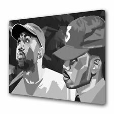 Chance the Rapper Kanye West 2 Print Painting Picture Wall Art Canvas Home Décor