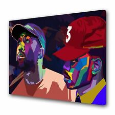 Chance the Rapper Kanye West Print Painting Picture Wall Art Canvas Home Décor