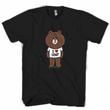 NEW BEAR AND BUNNY LINE CHARACTER COUPLE MEN MAN / WOMAN T-SHIRT