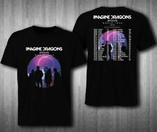 NEW IMAGINE DRAGONS EVOLVE WORLD 2 2018 TOUR SIDE T-SHIRT ALL SIZE TEE USA SIZE