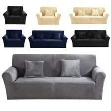1/2/3 Seater Sofa Slipcover Stretch Soft Couch Protector Cover Washable Easy Fit