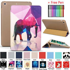 Folio Smart Magnetic Leather Stand Case Cover For iPad Mini Air Pro 1 2 3 4 5