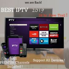Subscription Smart IPTV 12 Month FireTv Android M3u MAG Smart TV IOS + USB 32GB