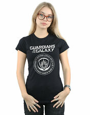 Marvel Women's Guardians Of The Galaxy Vol. 2 Distressed Seal T-Shirt