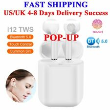 New Fu&y Bill High Quality I12 TWS 1:1 Headset Wireless Bluetooth 5.0 Super