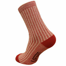 Vans Off The Wall Womens Sloucher Adult Red Socks X9FE6I A6