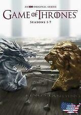 Game Of Thrones Complete Series Seasons 1 2 3 4 5 6 7 DVD New Sealed Box Set 1-7
