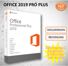 Office 2019 Professional Plus - 32&64 Bits - ESD Versand per Email