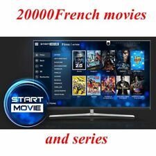 Start  French Movies Iptv subscription professional french movies 20000 and