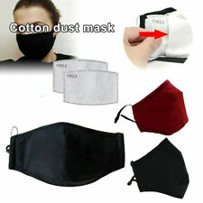 Washable Reusable Cotton Fog-free Glasses Face Shield Anti-Dust Mouth With Valve