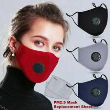 Face Shield With Respirator&2 Filters Anti Air Pollution Washable Reusable Cover