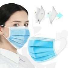 3-Ply DISPOSABLE SAFETY ANTI FOG FACE MOUTH MASSK HOT LOT