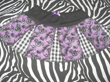 NEW  baby girls Black,Purple,Silver Bats Tutu Skirt