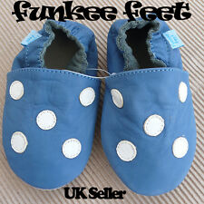 NEW LEATHER BABY SHOES 0-6,6-12,12-18,18-24 mths B SPOT