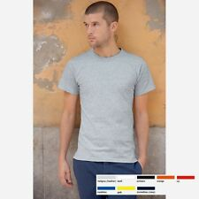 HERREN MANN T-SHIRT FRUIT OF THE LOOM USA HEAVY COTTON 8 FARBEN GRÖßE S-3XL
