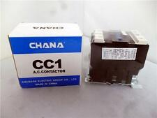 CHANA CC1-40  Contactor range 18.5KW 40A AC3 3 pole plus open + closed Auxiliary
