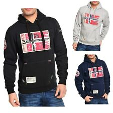 Geographical Norway Sweatshirt Pullover Hoodie GREATFLAG S M L XL XXL