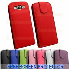 HQ PU Leather Flip Case Cover With Magnetic Closure Samsung Galaxy S3 SIII i9300