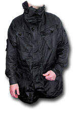 SAS FOUR-POCKET WINDPROOF SMOCK, BLACK [22001]