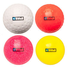 NEW BYTE FIELD HOCKEY INDOOR SMOOTH BALL ALL SURFACES TRAINING COLOURED ONE SIZE