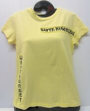 Ladies Eplay Yellow T-Shirt  With Stitch Art No..D7311.050.069