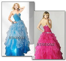 STAR IN YOUR FAIRYTALE! BEADED PROM/FORMAL/EVENING/BRIDESMAID/BALL GOWN