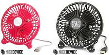 MINI PORTABLE USB FAN OFFICE DESK HOME COOL AIR SAFE DURABLE GADGET SMALL NEW
