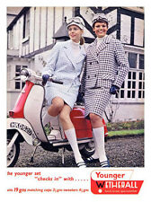 Mods and Scooters 1960s Sportswear Print - Framed And Memo Board Available