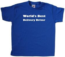 World's Best Delivery Driver Kids T-Shirt