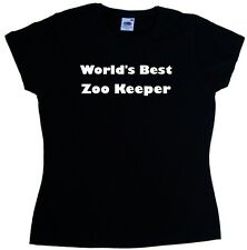 World's Best Zoo Keeper Ladies T-Shirt
