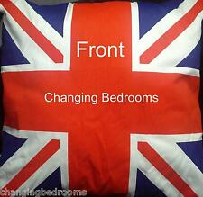 GB UNION JACK REVERSIBLE FILLED CUSHIONS 43cm x 43cm CHOICE OF 1 OR 2 CUSHIONS