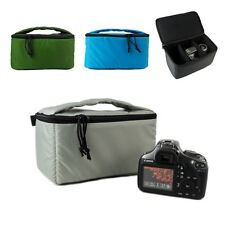 New SLR DSLR Camera Insert Partition Soft Inner Padded Bag Protective Case Bag