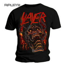 Official T Shirt SLAYER Skull MEATHOOKS Metal All Sizes