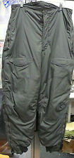 US AIR FORCE F1B EXTREME COLD WEATHER PANTS ECW TROUSERS NO SUSPENDERS