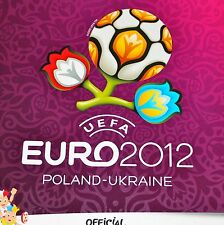 Panini EM UEFA EURO 2012 12 DISPLAY BOX TÜTEN STICKER ALBUM KOMPLETTSATZ UPDATES