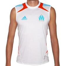 Adidas Olympique Marseille Shirt Trikot Jersey OM Tank Top weiß/blau/orange