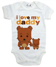 "Dirty Fingers /""I Love Heart My Big Brother/"" Bodysuit Babygrow Baby Clothes Gift"