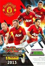 Adrenalyn XL Manchester United 2013 *Choose Your GOLD FOIL SIGNATURE Card*