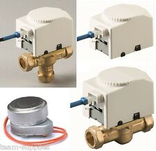 TEAMS MOTORISED ZONE VALVES & HEADS DIRECT HONEYWELL REPLACEMENT FOR V4073 V4043