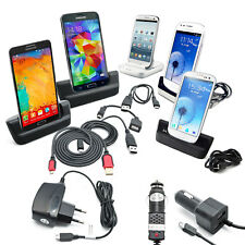 Samsung Galaxy Note 3 N9005 Dock Docking station Ladestation schwarz Datenkabel