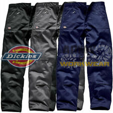 Dickies REDHAWK Mens Action Trousers Combat Zip Pocket Cargo Work Pants WD814