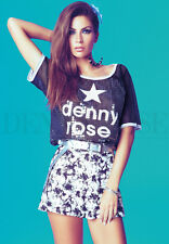 T-SHIRT DENNY IN PAILLETTES art. 45DR62006 - DENNY ROSE Estate / Summer 2014