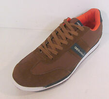 Mens one true saxon brown trainers VOLARE