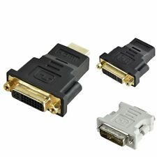 HDMI Female to DVI Male to DVI M/D F/D Female Adapter Connector Converter