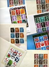 GB Prestige Pane FDCs - 1984 - 2014 PICK First Day Covers  FDC MULTIPLE LISTING